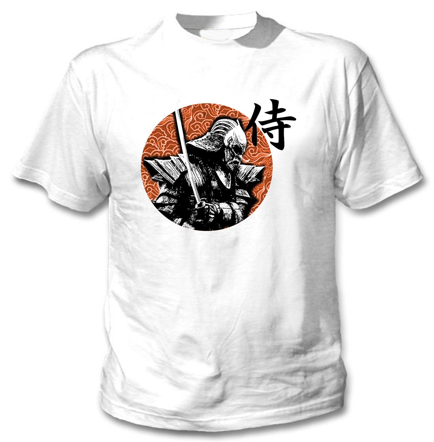 2018 New Fashion Funny T-shirt SAMURAI JAPAN WARRIOR 1 - NEW COTTON WHITE TSHIRT