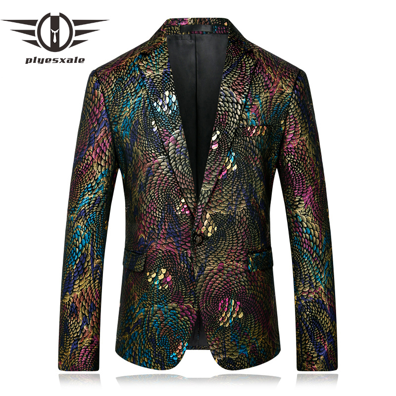 Blazer Men 2017 Stage Costumes Men Gold Silver Suit Jacket Fashion Singer Suit Blazer Masculino Slim Fit Coat Mens Blazer Jacket Elegant And Sturdy Package Men's Clothing