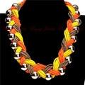 15 colores venta al por mayor 2015 hechos a mano granos de la resina de oro brillante del grano Chunky Hollow declaración Collar de Collar de mujer joyería
