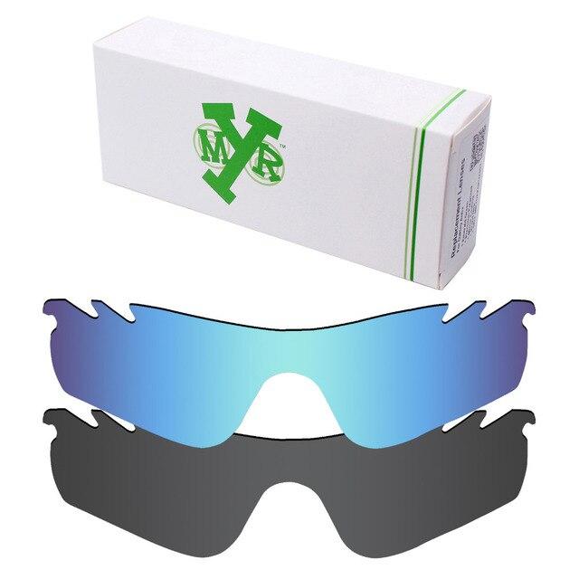 2 Peças Mryok Vented Lentes de Reposição para óculos Oakley Radarlock  caminho óculos de Sol POLARIZADOS cf23ef56d7