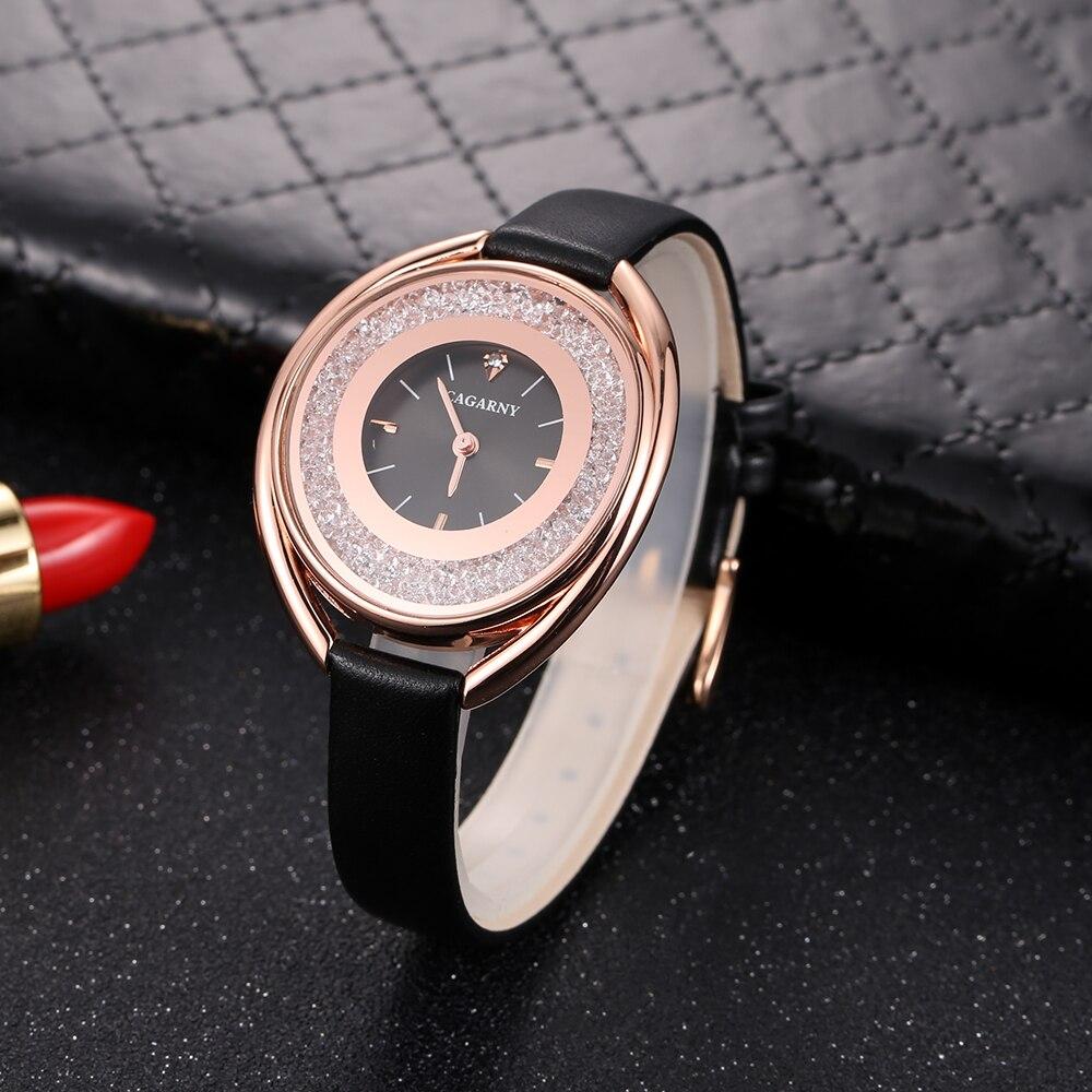 cagarny 2018 Fashion Women Watch Luxury Brand Women Casual Wrist Watch Ladies Quartz Watch Relogio Feminino bayan kol saati wholesale drop shipping (10)