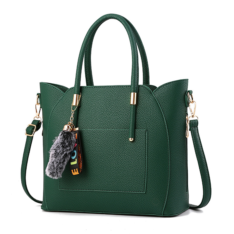 MONNET CAUTHY New Bags Female Leisure Fashion Elegant Office Ladies <font><b>Handbags</b></font> Solid Color Green <font><b>Khaki</b></font> Grey Black Crossbody Totes