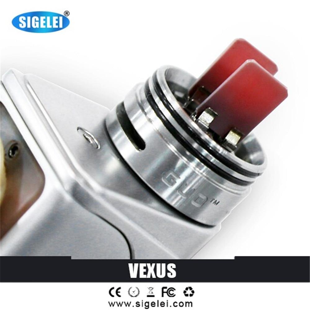 2017 100%Orginal Litimed Edition Sigelei vexus tank Black/SS Vexus tank no need wire hot tank sigelei vexus in stock боксмод sigelei fuchai 213w tc blue силик чехол