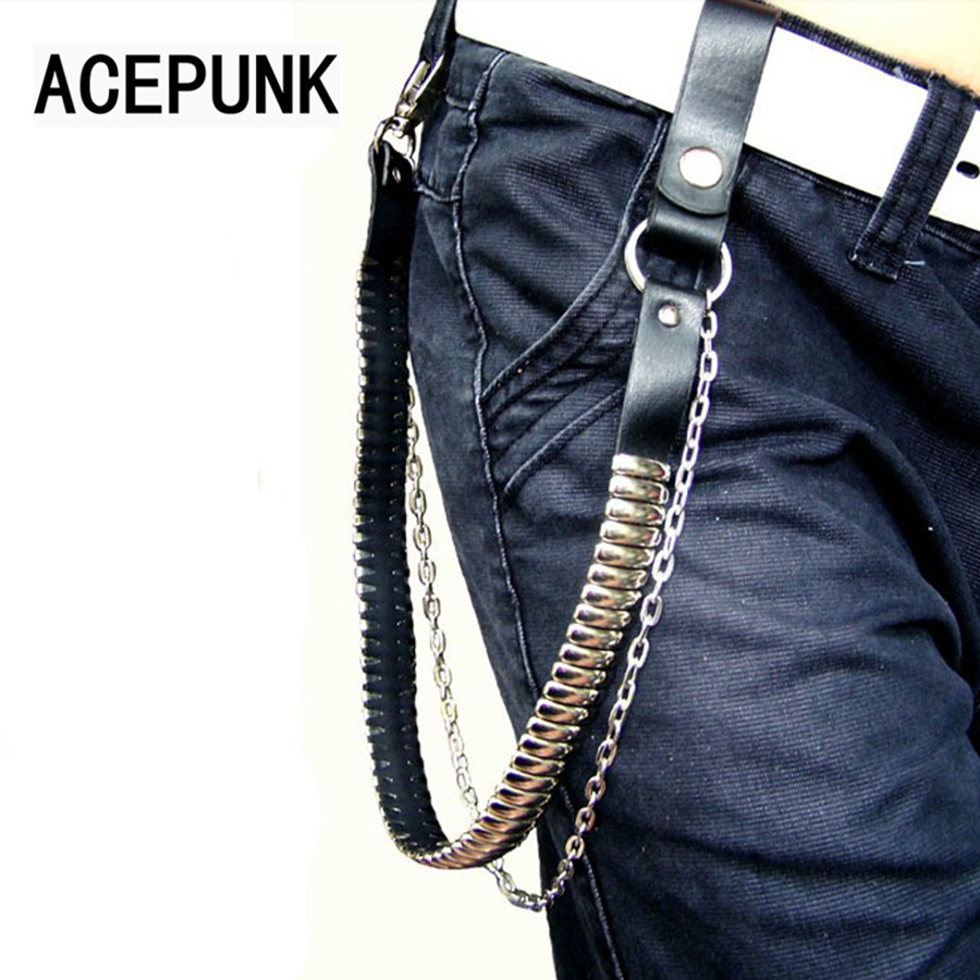 Fashion Cool Men Hip Hop Dancing Punk Pants Chain/ Hand Chain/ Boot Chains Jeans Silver Metal Clothing Accessories Jewelry