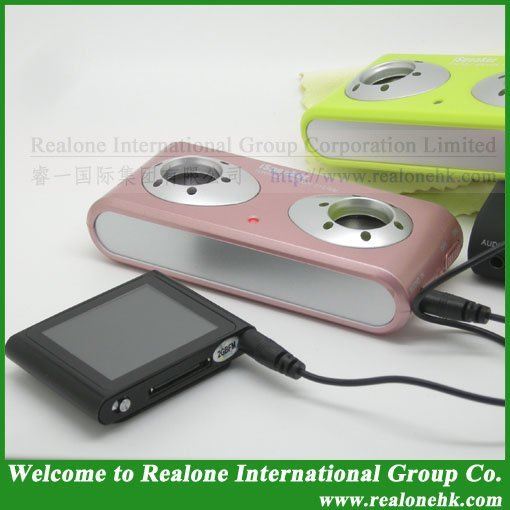 MP4 Mini Speaker Free Shipping Portable Mobile Phone speaker Mini PC speaker Laptop mini speaker Mini stereo portable speaker2.0