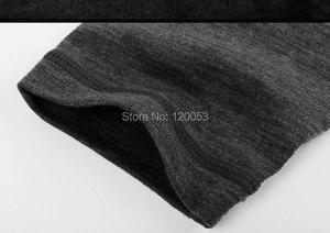 Image 4 - Mens100% Australia Merino Wool Long Sleeve Baselayer, Mens Merino Wool Baselayer Long Sleeve, With Placket