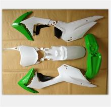 2014 CRF110 GREEN/WHITE/black Plastic PARTS  FOR HONDA MOTO motorcycle dird pit bike CRF 110
