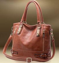 Heißer Verkauf Neue 2014 Modemarke Frauen Handtasche Leder Umhängetaschen Frauen Die Weiblichen Leder Retro Messenger Bags