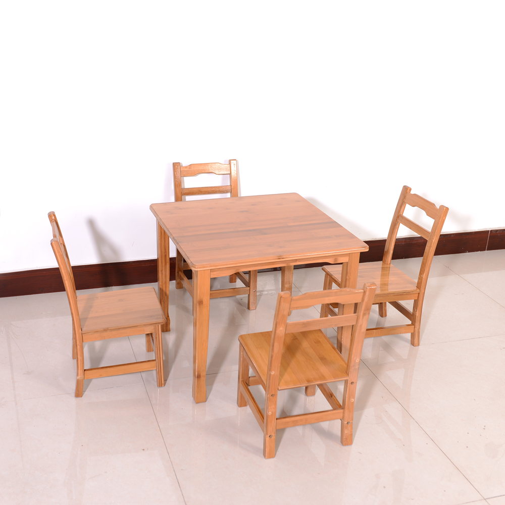 Simple Bamboo Children Table Dropshipping dropshipping