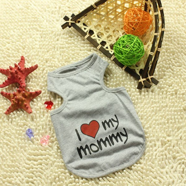 I Love Mommy Daddy Cat Shirt