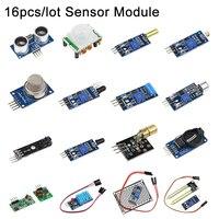 16 teile/los Sensor kit 16 Arten von Sensor Modul für Raspberry Pi 3B +/3B für DIY Extension Board