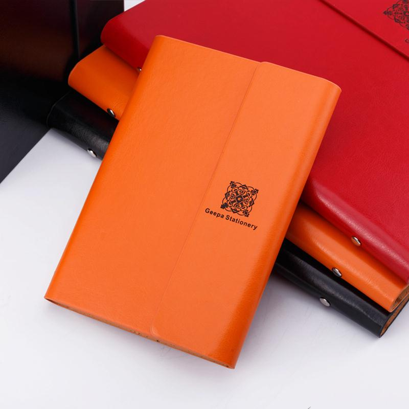 New Leather Diary Notebook A5 B5 Spiral Notebook paper 116 sheets Weekly Day Planner Note book notepad Office School Supplies 2017 new arrives business brief fashion spiral notebook pvc cover a6 a5 b5 line note 80p school office supplies