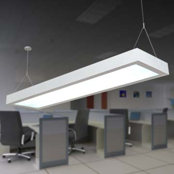 office hanging lights. High Quality Modern 2*T8 Office Led Suspension Lamp Buildings Hanging Meeting Lights P