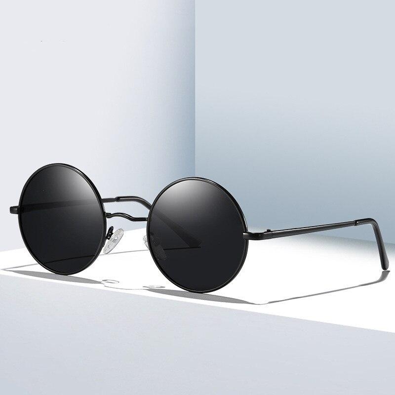 2019 Sunglasses Round Vintage Sun Glasses Polarized Sunglasses Women Small Metal UV400 Brand Driving Sun Glasses