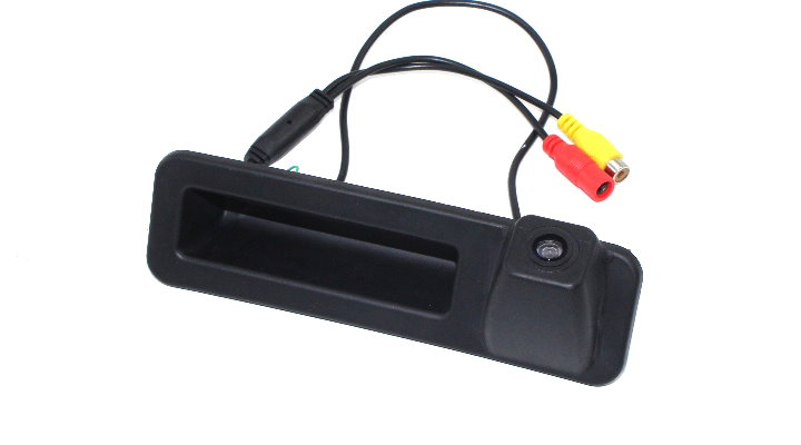Liislee Car Rear View For BMW 3 Series F34 2018 Trunk Handle Camera  Reverse Parking Back Camera  Guide Line  Night Vision 6