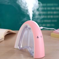 400ML Rainbow Air Ultrasonic Humidifier With LED Lamp Air Freshener Atomizer USB Humidificador MESSage Board Humidifier