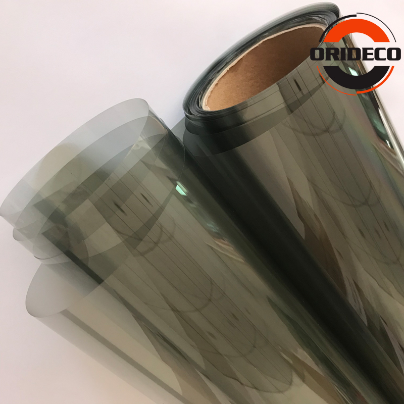 Image 4 - 50cm*100/200/300/500cm Grey Car Window Tint Film Front Side Glass window film VLT 70% Car Auto House Commercial Solar Protection-in Window Foils from Automobiles & Motorcycles