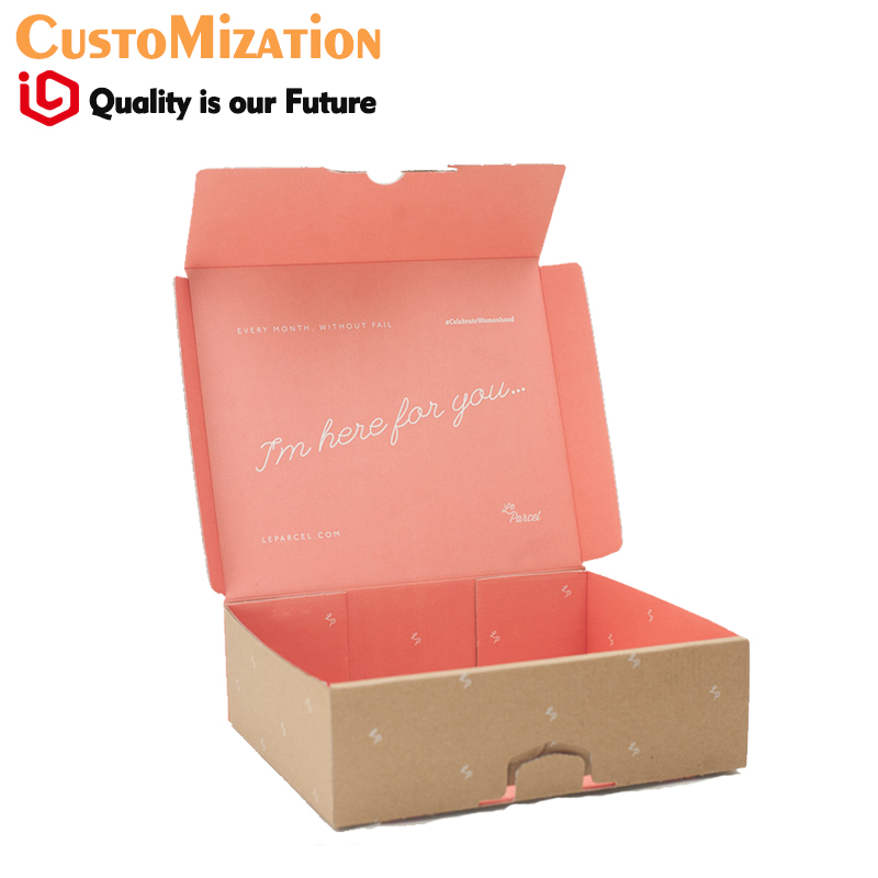 Chalkboard Corrugated Mailer Boxes for jewels watch