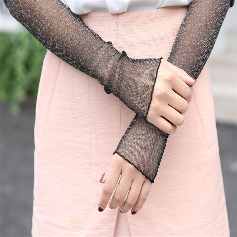 2018 Mode Sokken Warm Arm Warmer Katoen Lange Vingerloze Handschoenen Zomer Vrouwen Wanten Enkel Hoge Zonnebrandcrème Been Rijk Aan PoëTische En Picturale Pracht