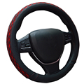 Ice silk Steering Wheel Cover Pu leather Wrap For Nissan 200SX 240SX 280ZX 300ZX 350Z 370Z Altima Armada Cube Frontier
