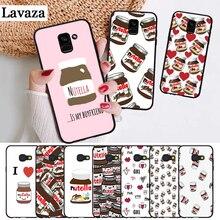 Lavaza food Chocolate Nutella Silicone Case for Samsung A3 A5 A6 Plus A7 A8 A9 A10 A30 A40 A50 A70 J6 A10S A30S A50S