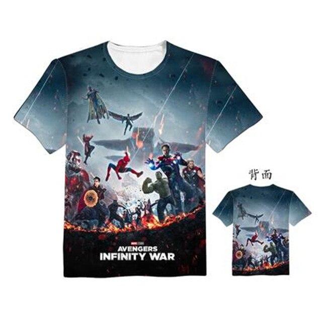 Футболка с принтами Мстители: война бесконечности в ассортименте 3