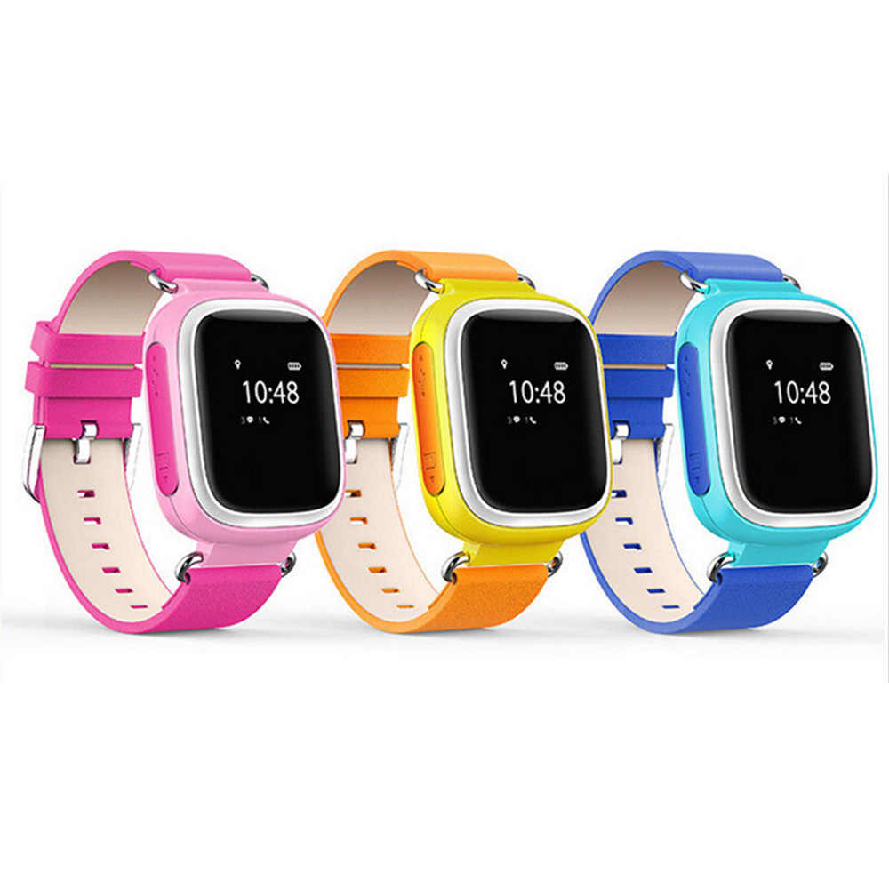 Fashion Kid Smart Watch SOS Tracker Locator Monitor Anti Lost SIM Card Wristwatch Sports For Elder Children Accessory Gift