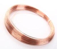 1kg Pure Copper Wire T2 copper wire Ultra small Copper Bar 0.2mm 0.3mm 0.4mm 0.5mm 0.6mm 0.8mm 1mm 1.5mm 2mm 3mm 4mm 5mm