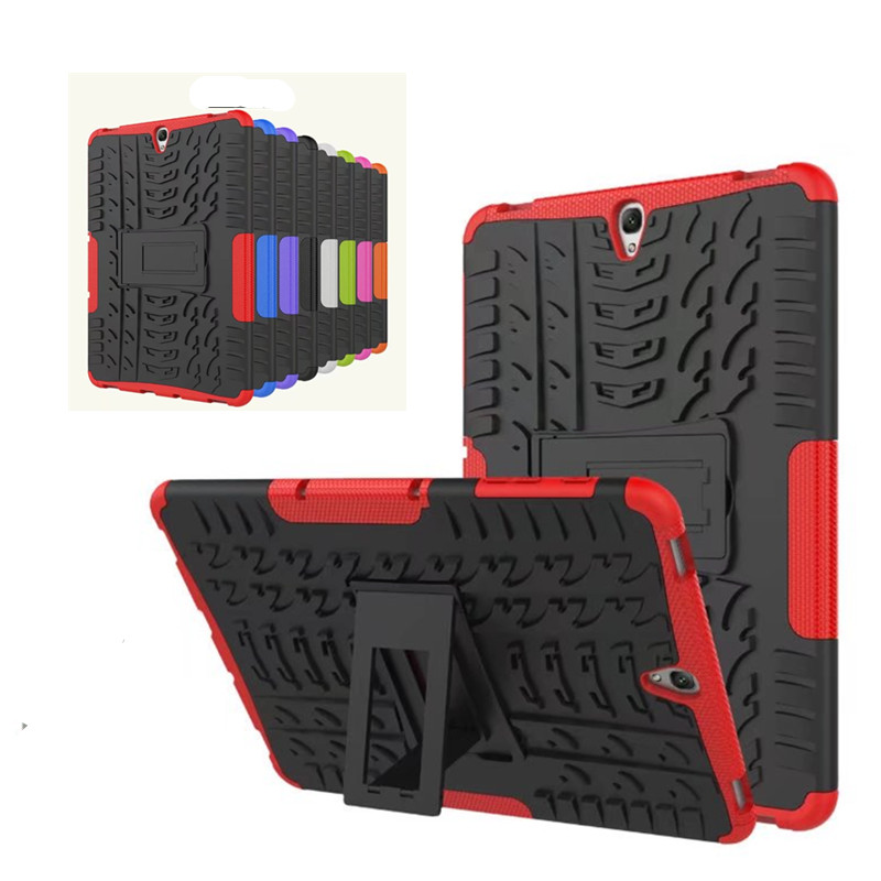Heavy Duty Hard PC Case With TPU Shockproof Non Slip Stand Case For Samsung Galaxy Tab
