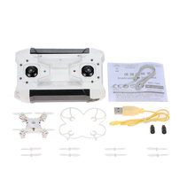 Original 124 Micro Pocket RC Drone 4CH 6Axis Gyro Switchable Controller Mini Quadcopter RTF RC Helicopter Quad Kids Toys