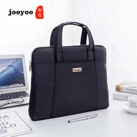 Men's Hand held Information Kit Folder A4 Briefcase Men's and Women's Business Computer Bag jooyoo