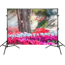 Mehofoto Spring Photography Backdrop Beautiful Flowers Background Tree Banner Decoration Backdrops for Photo Shoot mehofoto happy mother s day party backdrops photography flowers background photographic for mother props for photo shoot
