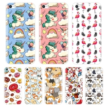 Painting Soft TPU Phone Case For iPhone 4S 5 5S 5C SE Case Silicone Cute Unicorn Back Cover For iPhone 4 5 S Case Coque Fundas ziqiao cute cartoon cat shaped protective soft silicone back case for iphone 4 4s red blue