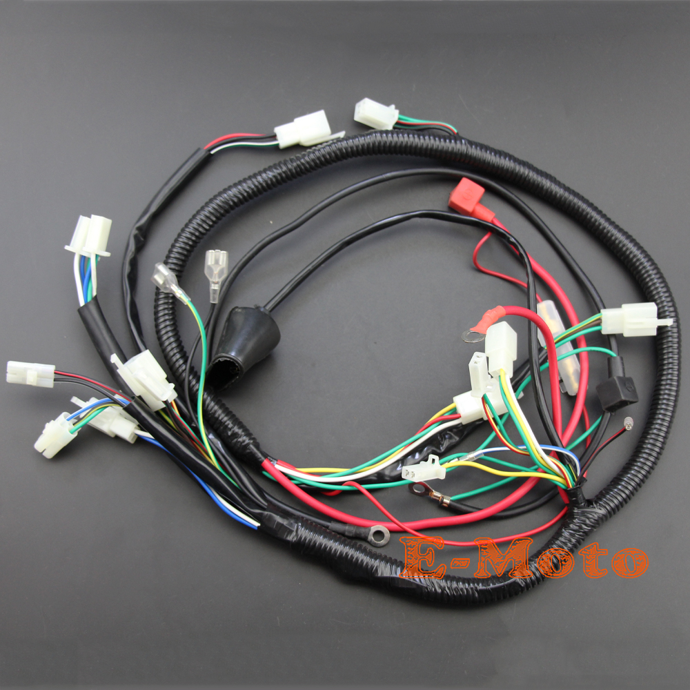 150cc Gy6 Engine Wiring Harness Loom For Scoote 125cc Quad Bike Atv Atomik Buggy In Motorbike Ingition From Automobiles Motorcycles On