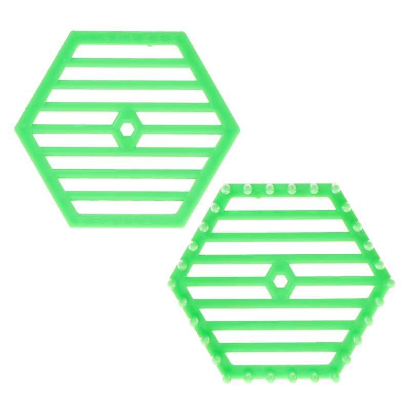 2019 Baru Alat Pembiakan Lebah Queen Bee Kandang Lebah Penangkap Apiculture Alat Plastik Hexagonal Perlebahan Persediaan