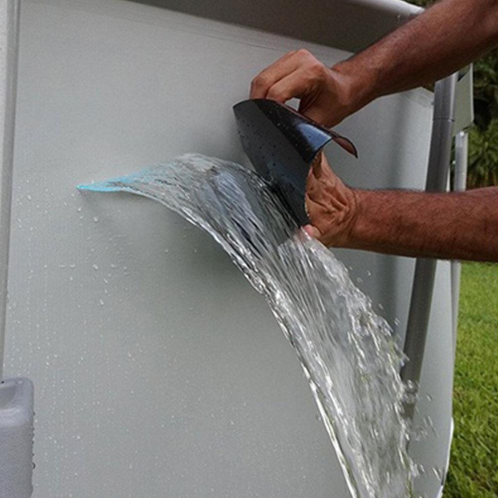 Super Starke Wasserdichte Stop Lecks Dichtung Reparatur Band Leistung Selbst Fiber Fix Band PVC Fiber Fix Klebeband