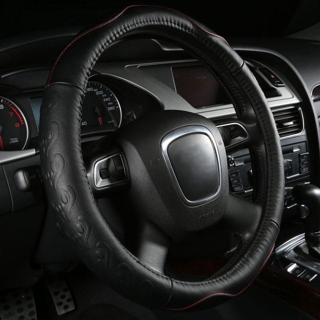 car steering wheels cover genuine leather accessories for
