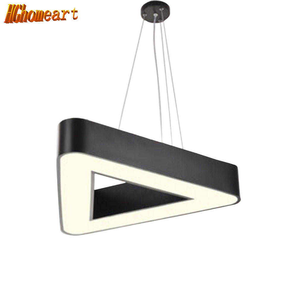 HGHomeart 110V/220V  Lustre Chandelier LED Office Living Room Lamp Contemporary Chandeliers Lamparas Suspension Light hghomeart creative cartoon chandeliers led crystal chandelier kids room light wrought iron lamp lustre suspension