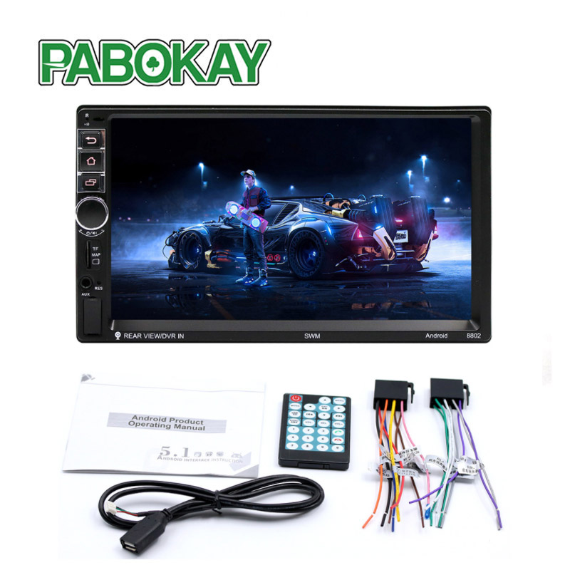8802 2 Din Touch Screen Car audio Audio player Bluetooth with Mirror link Car stetoes Touch