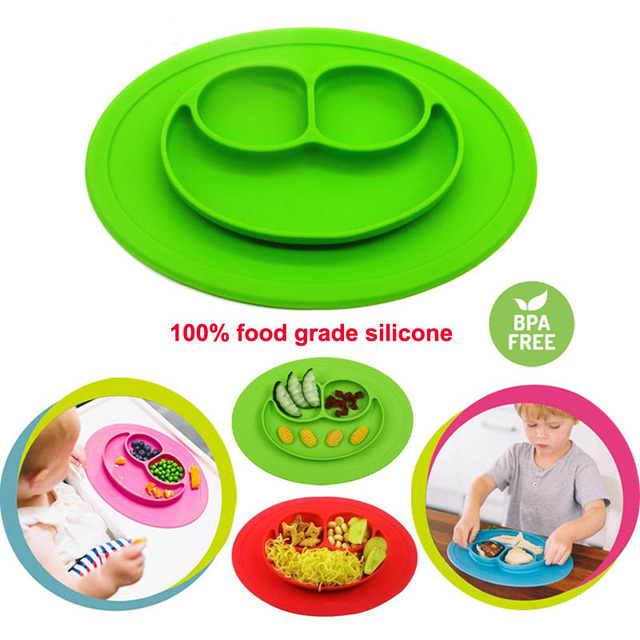 aliexpress buy baby plate adsorption non slip infant