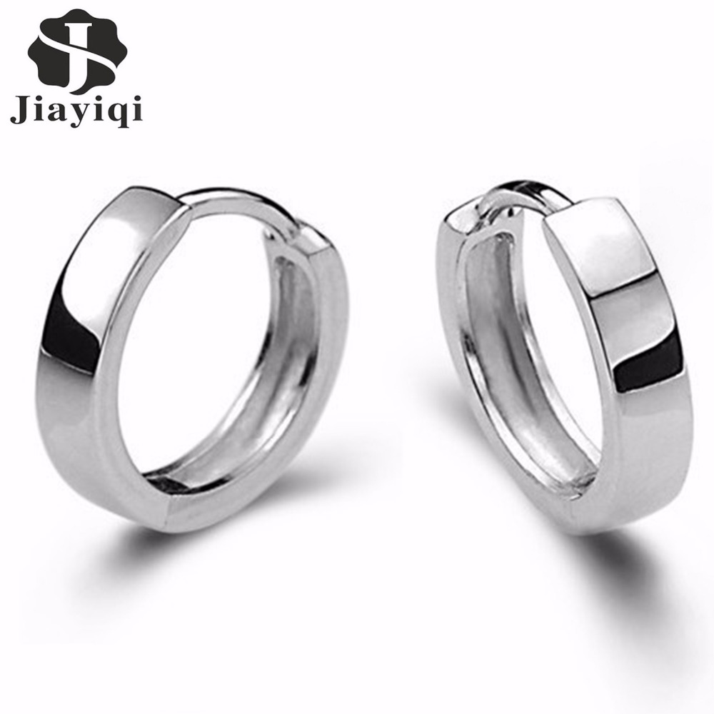 2018 Wholesale Fashion Korean Style Fine Jewelry Silver color Earring Love Cute Stud Earrings Pendientes Plata  New