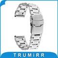 18mm banda com fivela de aço inoxidável bloqueio para huawei watch asus zenwatch 2 (1.45 ''/45mm) Pulseira Pulseira de mulheres 2015 Smartwatch