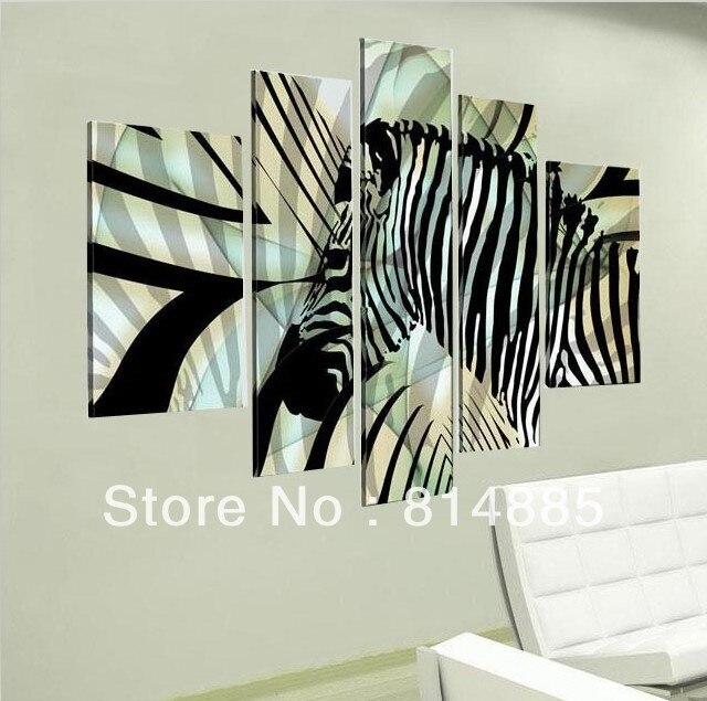 Zebra Wall Art white zebras promotion-shop for promotional white zebras on