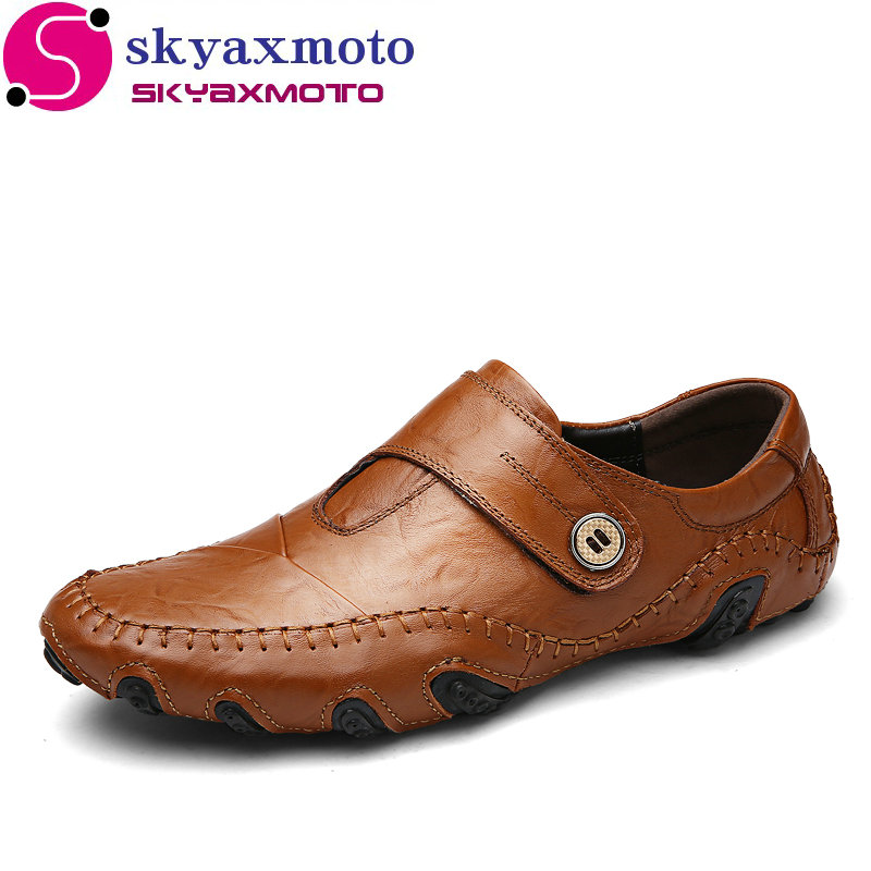 Genuine Leather Casual shoes Men's Octopus Flats Luxury Brand Men Loafers Comfortable Soft Driving Shoes Slip On Moccasins handmade genuine leather men s flats casual haap sun brand men loafers comfortable soft driving shoes slip on leather moccasins