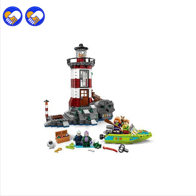 A toy A dream 2016 NEW Bela 10431 Haunted Lighthouse Scooby Doo Model Bricks Blocks 3D Kids Toy Gifts Christmas toys Legoingly a toy a dream 2017 new free shipping decool 3331 large 805pcs exploiture crane model enlighten plastic building blocks sets
