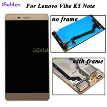 "5.5"" LCD For Lenovo Vibe K5 Note lcd Display Touch Screen with Frame For Lenovo K5 Note Display A7020 LCD Replacement"