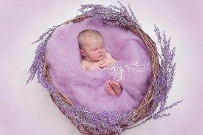 c9c23afd0e77 Товар 20 Colors 60 60cm Fluffy Wool Fleece Newborn Blanket Basket ...