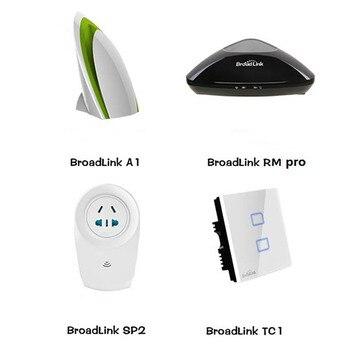 RM RM2 Pro Universal Remote Contol IR RF+ A1 e-Air Quality Detector +SP2 Smart Socket+TC2 Wall Light Switch 1pc