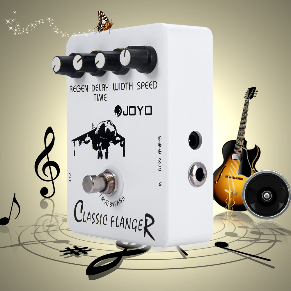 JOYO JF - 07 Electric Guitar Effect Pedal True Bypass Design Classic Guitar Effect Pedal with BBD Simulation CircuitJOYO JF - 07 Electric Guitar Effect Pedal True Bypass Design Classic Guitar Effect Pedal with BBD Simulation Circuit