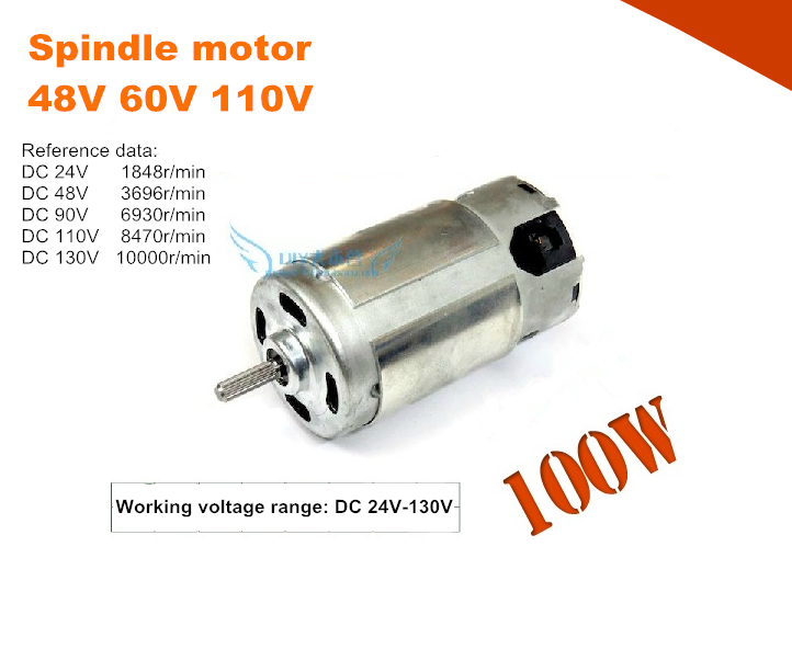 Home Improvement Electrical Equipments & Supplies Alert 781l Spindle Motor,48v 60v 110v,high Torque Permanent Magnet Dc Motor High Power High Speed Dc Motor For Electric Tool Diy